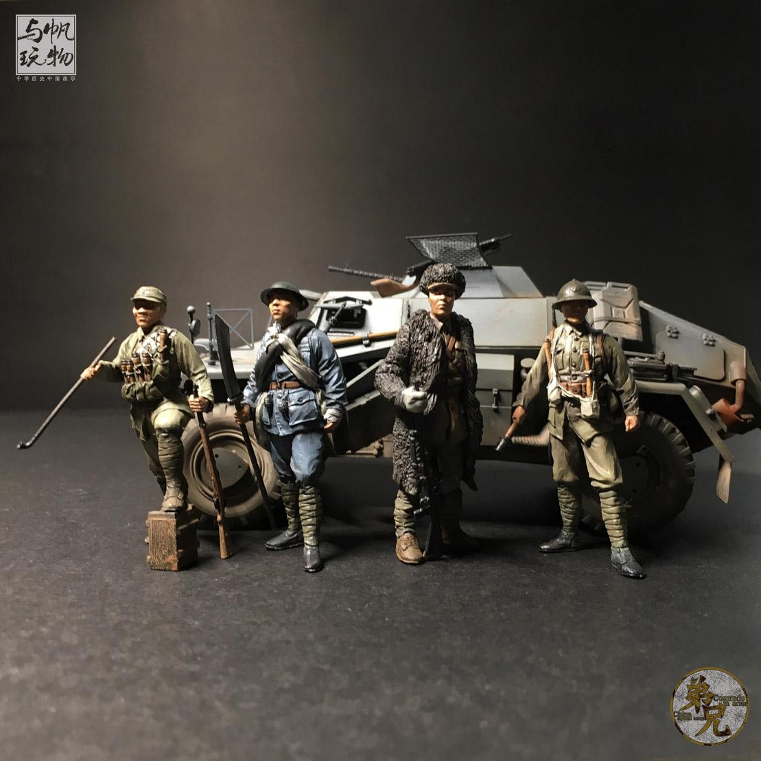 兵人模型吧_新款军事抗战二战兵人模型沙盘