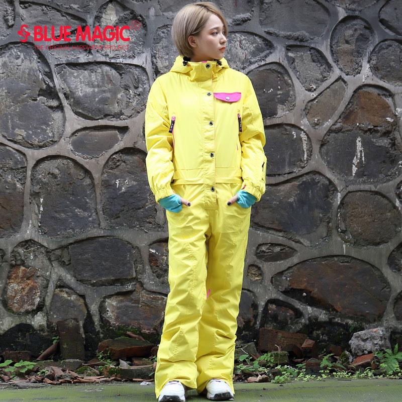 Autumn and Winter new women s Siamese ski suit ladies tide Siamese snow  suit suit jumpsuit single ce650f5e50