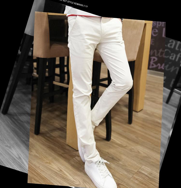 Mùa hè quần âu nam tự trồng chân cotton tải về Hàn Quốc phiên bản của các xu hướng thanh niên của hoang dã siêu mỏng quần dài
