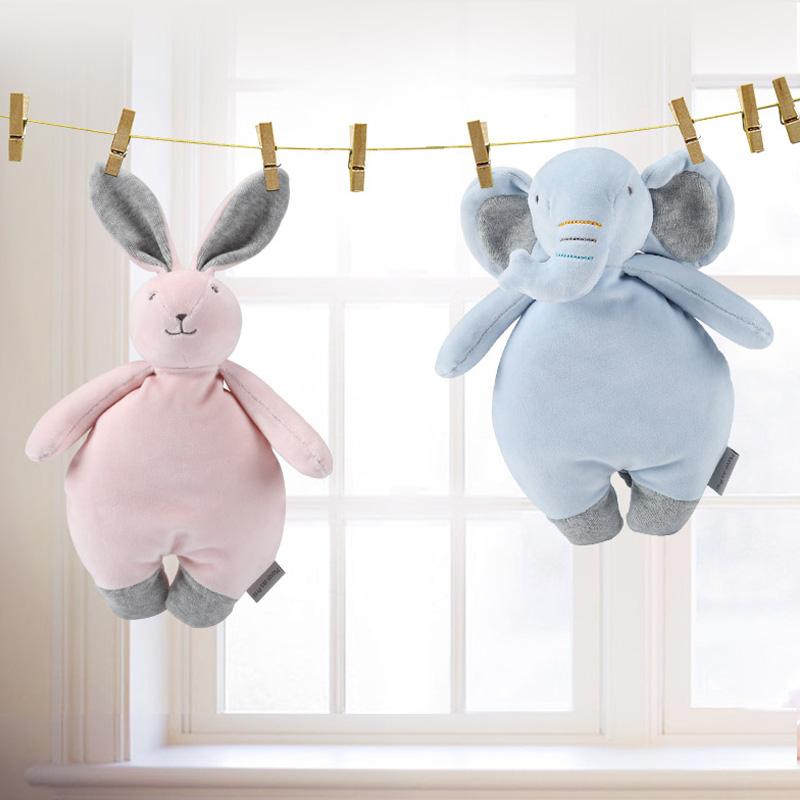 麦侬贝儿安抚玩偶婴儿可入口安抚玩具哄睡毛绒玩具0-1岁生日礼物