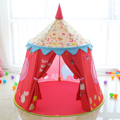 Children's tent indoor girl play house boy toy princess room baby castle home yurt gift