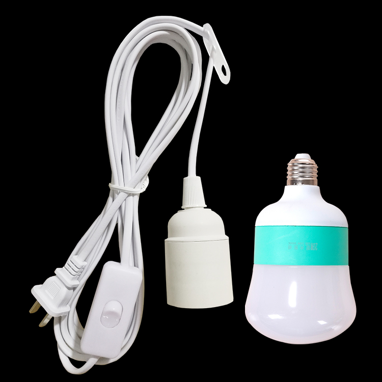 Lamp mouth with wire plug with switch household screw e27 lamp lamp mouth with wire plug with switch household screw e27 lamp holder plug table lamp chandelier keyboard keysfo Image collections