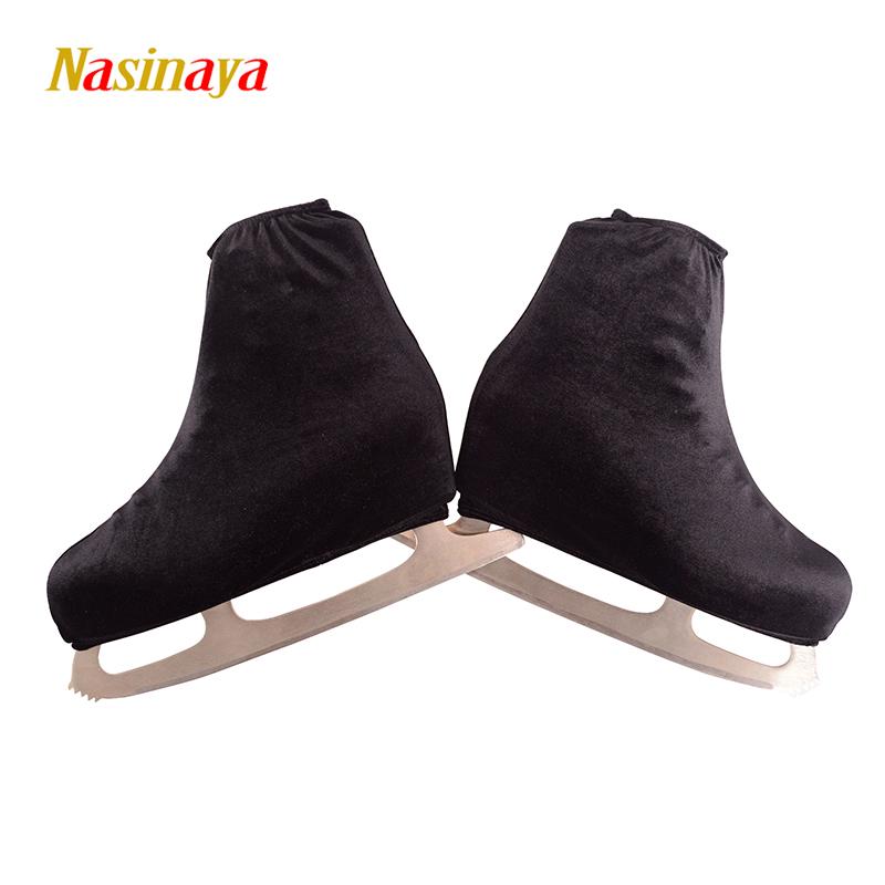 FUNO 24 цветной экспорт профессиональной фигурной фигурной обуви корейский Бархатный бархат эластичные мужские и женские детские Крышка для обуви Skate 24
