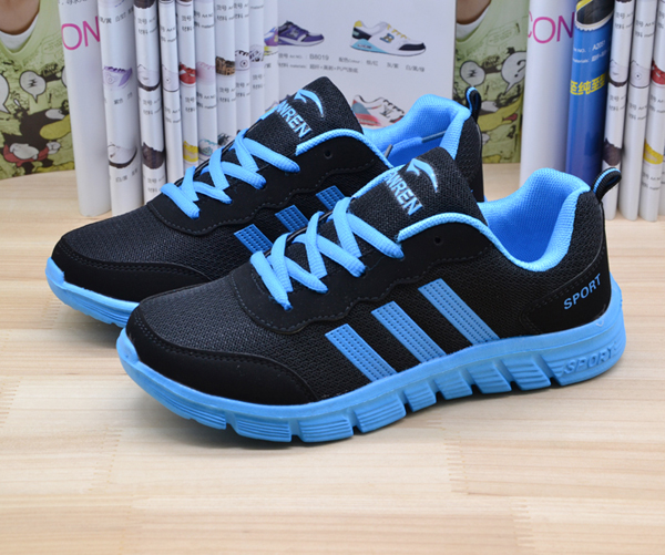 Middle-aged children shoes spring and