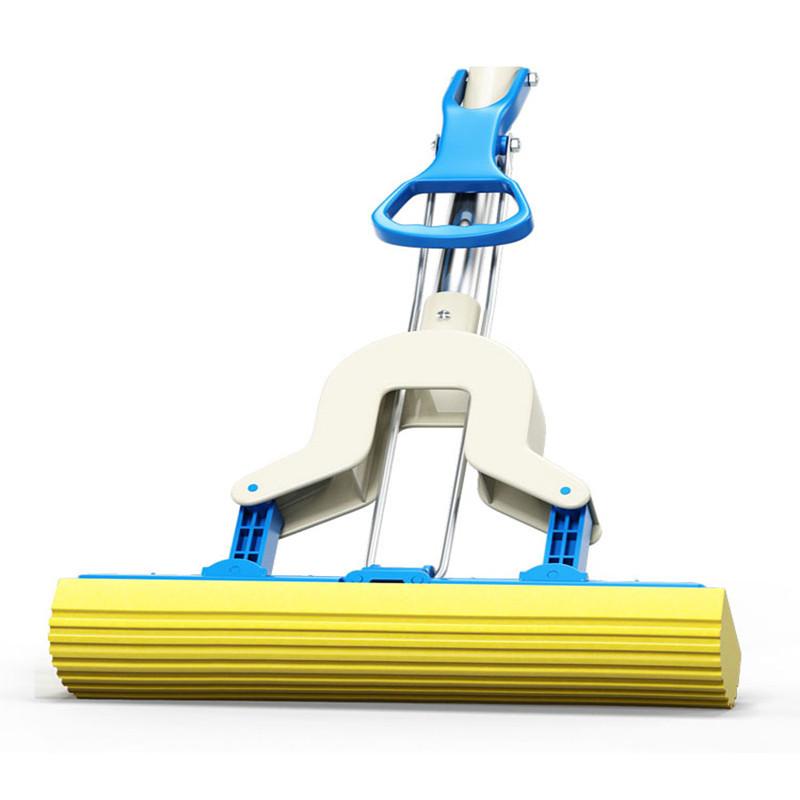对折式胶棉拖把免手洗拖布海绵拖吸水地拖海棉拖把头干湿两用托把