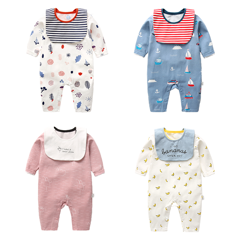 0ed0f6067fdf USD 19.21  Newborn baby conjoined men spring and autumn 0-1 year old ...