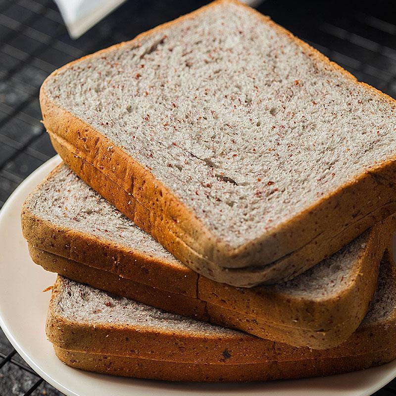 小夫 黑麦全麦代餐面包无糖精粗粮脂肪热量早餐0办公室休闲小零食