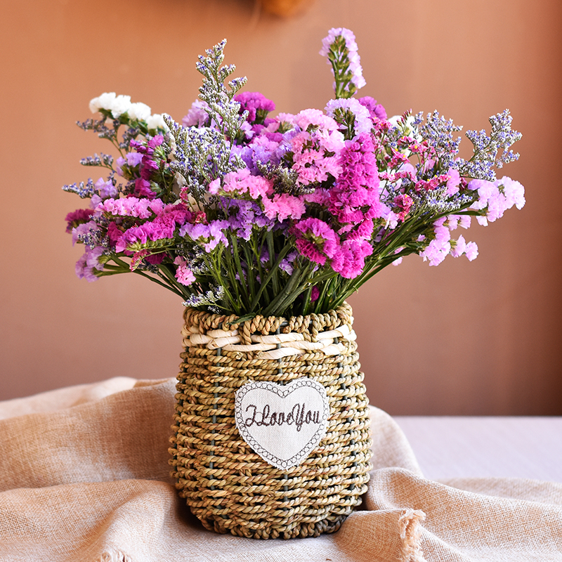 Dried flower bouquet home furnishings living room decoration small ...