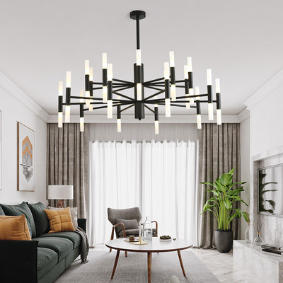 Nordic light luxury creative chandeliers modern living room master bedroom dining room warm personality home firefly lamps