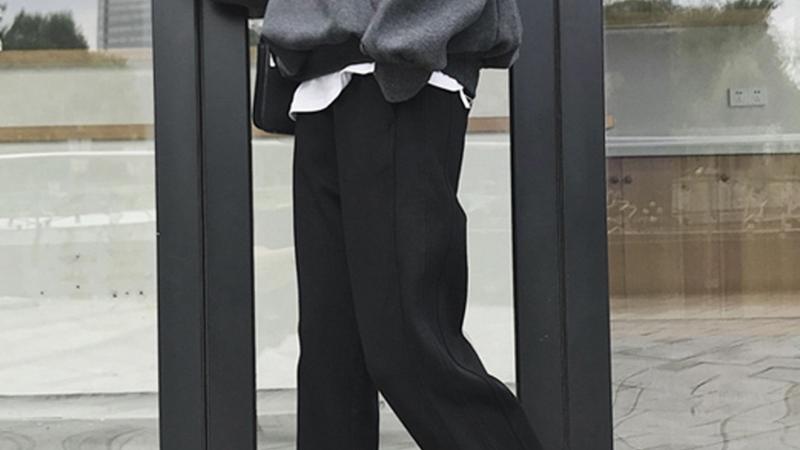显瘦藏肉的束脚裤,胖女孩的最爱!