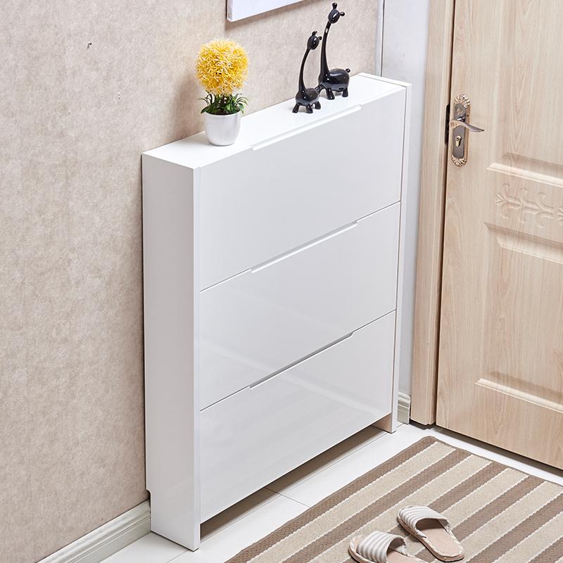 Door Slim Shoe Cabinet 17cm Simple Modern Multi Functional Hall Small Apartment E Living Room Dump