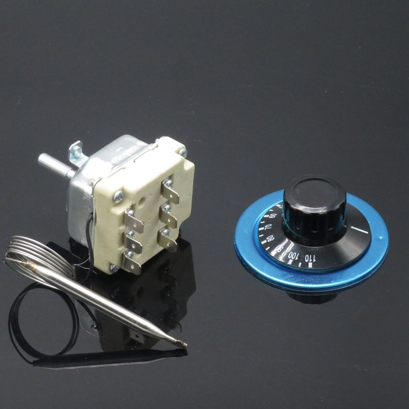 Water Heater Oven Knob Thermostat Temperature Controller Switch 30-110//50-300