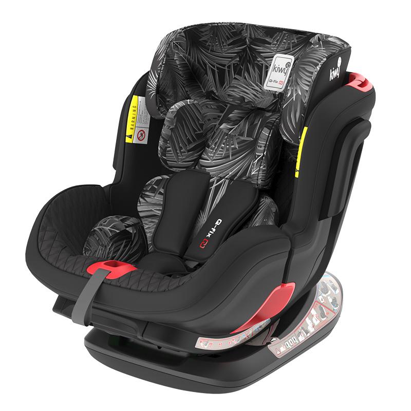 意大利kiwy戴维儿童安全座椅0-4-7岁isofix硬接口新生婴儿座椅