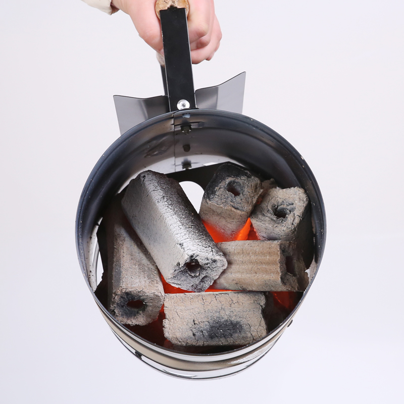 Outdoor barbecue charcoal fire bucket fast fire tools point charcoal artifact barbecue stove igniter charcoal ignition