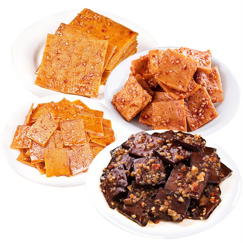 九道湾平江豆干小零食香辣小包散装卤酱干麻辣豆制品香干湖南特产