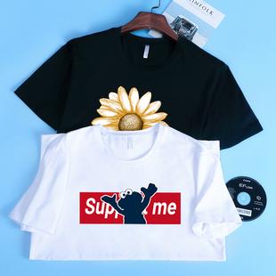 【大角鹿旗舰店】男士短袖T恤衫