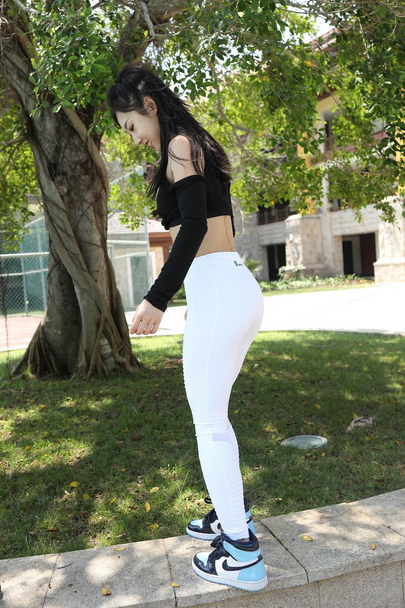 范家辉旅拍摄影第二篇盛夏白色瑜伽裤【视频+套图】 22042204 魔镜原创摄影,摄影大赛,旅拍摄影,魔镜街拍,范家辉旅拍, 帖子ID:661