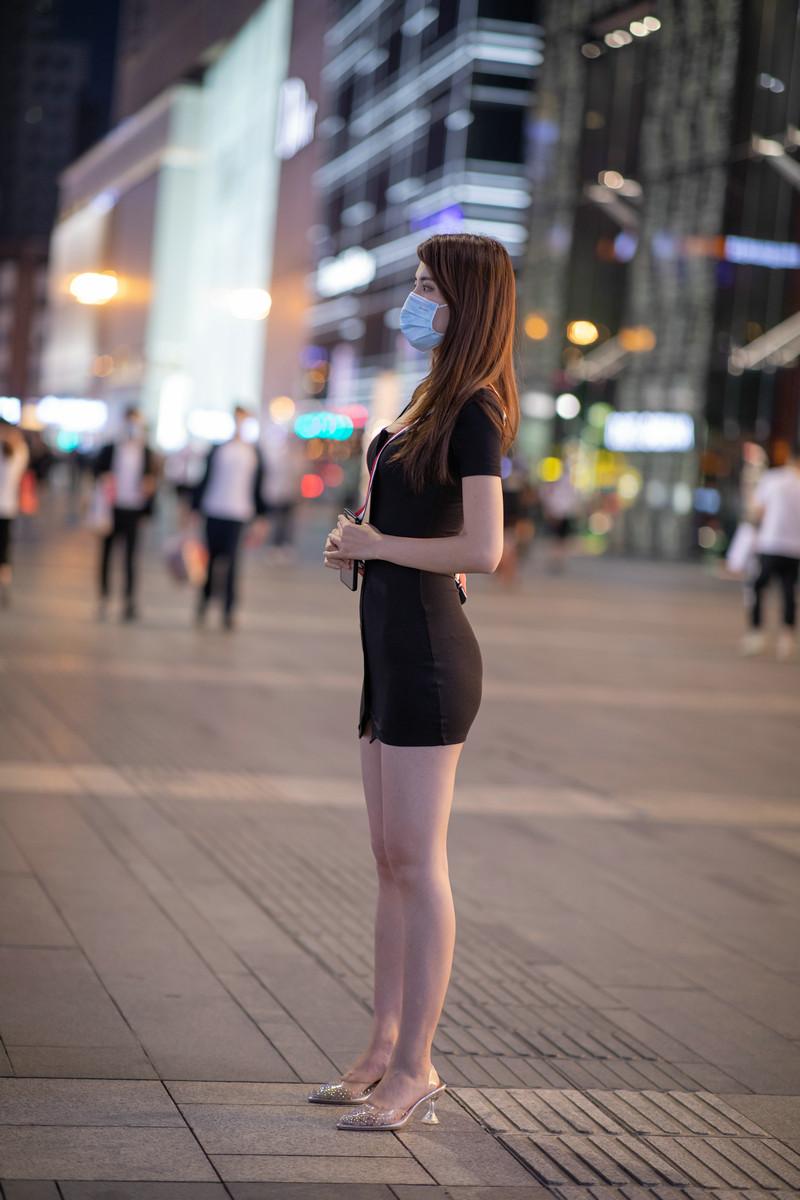 凯恩模拍作品夜遇包臀裙美女【视频+套图】 35333533 魔镜原创摄影,魔镜街拍,包臀裙,美腿高跟,性感美女, 帖子ID:721