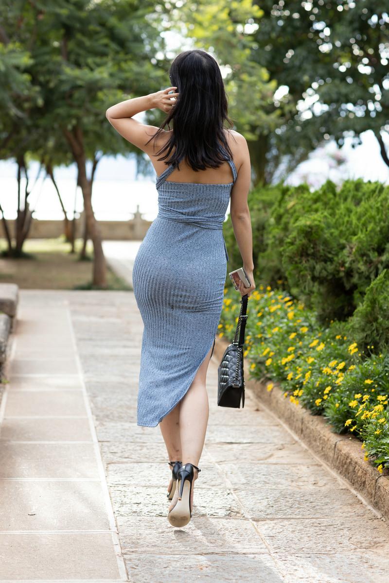 范家辉大理旅拍作品第三篇蓝色长裙美女【图片】 25092509  帖子ID:764