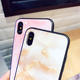 Iphone X 10 Tempered Glass Case 6 6S 7 8 Plus Marble Cover