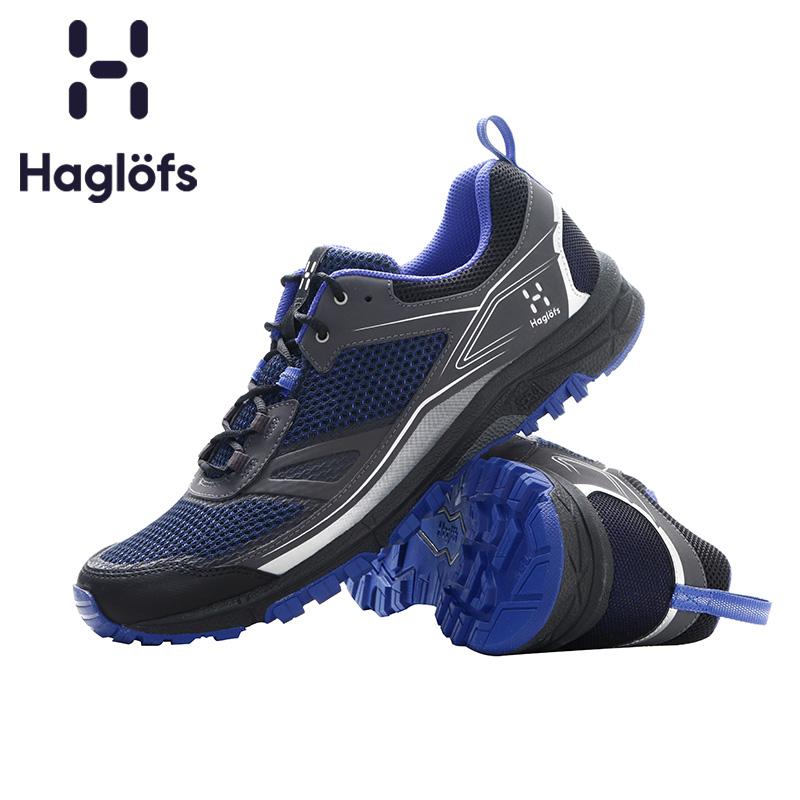 Haglofs火柴棍男款戶外輕質耐磨越野跑鞋497960