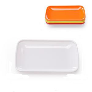 火锅店烤肉盘子配菜盘创意塑料密胺餐具商用自助餐串串香选菜托盘