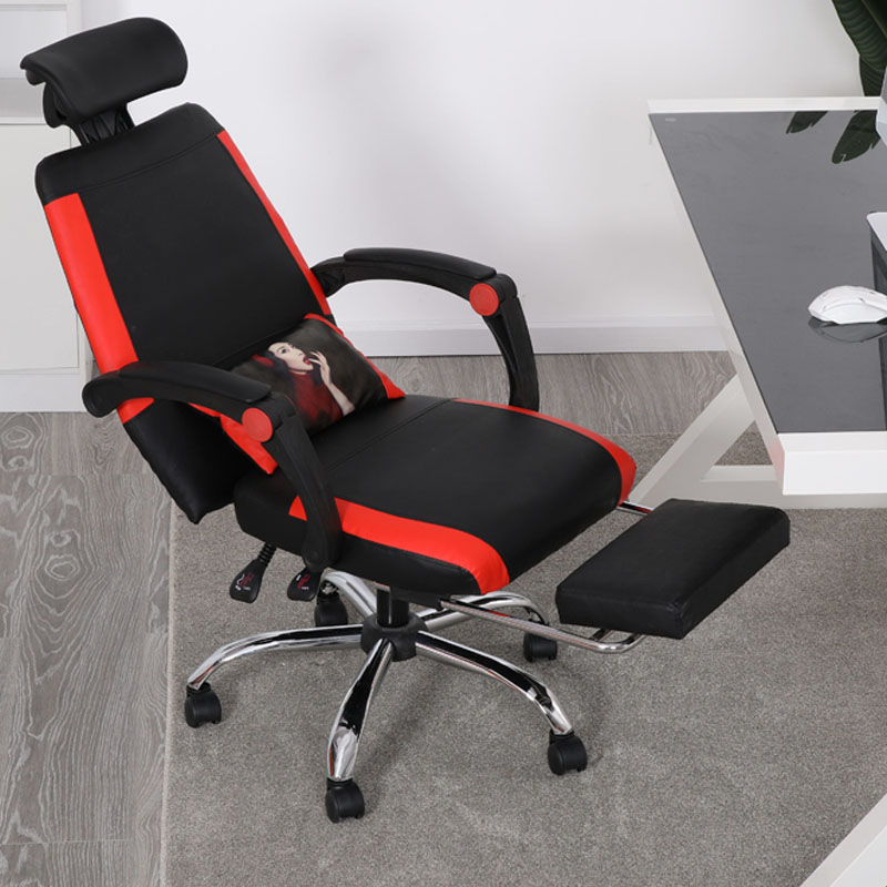 Computer Chair Home Office Conference Leisure Student Seat Lift Swivel E Sports Anchor Back