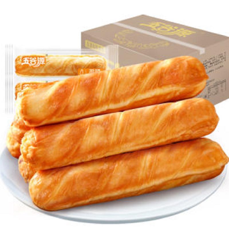 【买一箱送一箱】五谷源手撕面包720g
