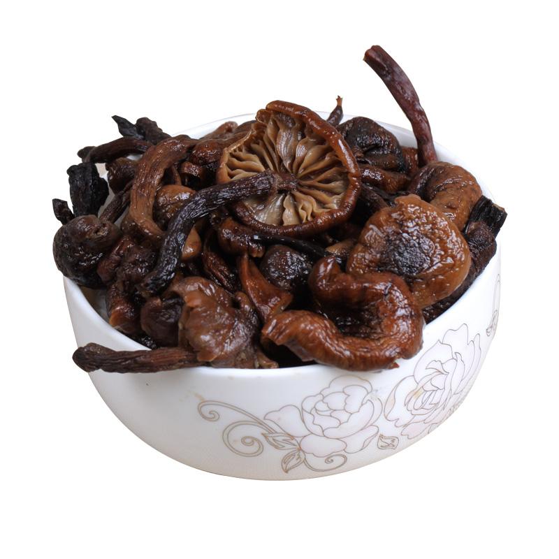 东北野生榛蘑小鸡炖蘑菇干货山特产榛蘑丁新货香菇类野生菌200g