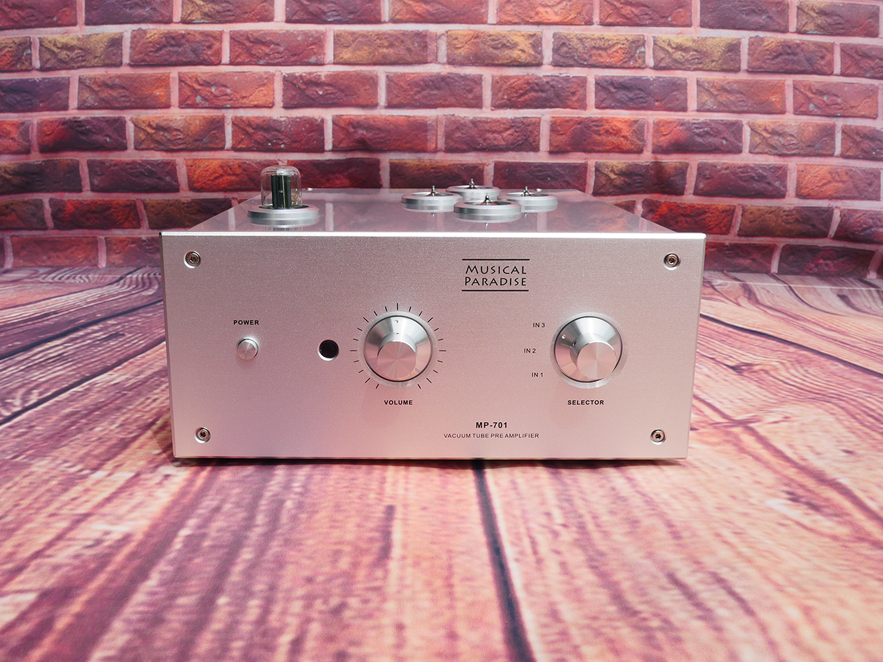 Music Hall MP-701 E88CC 6922 6dj8 bile preamp tube preamp amplifier