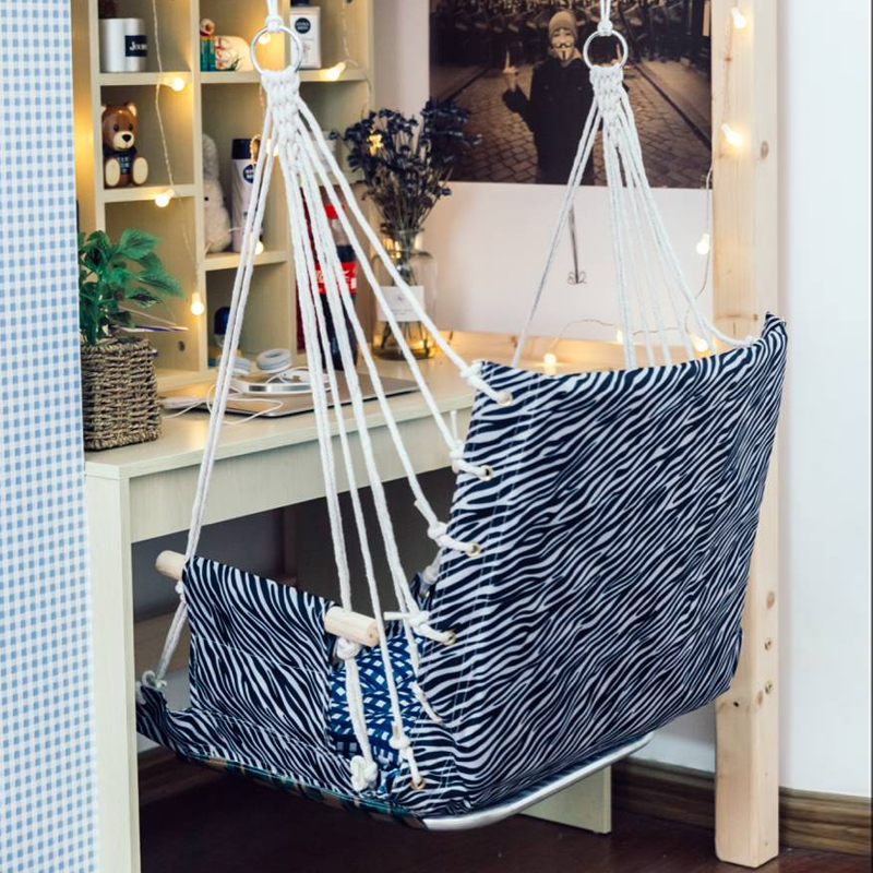 College Student Dormitory Hanging Chair Thickening Bedroom Chair Student  Bedroom Artifact Indoor Swing Hammock Rocking Chair