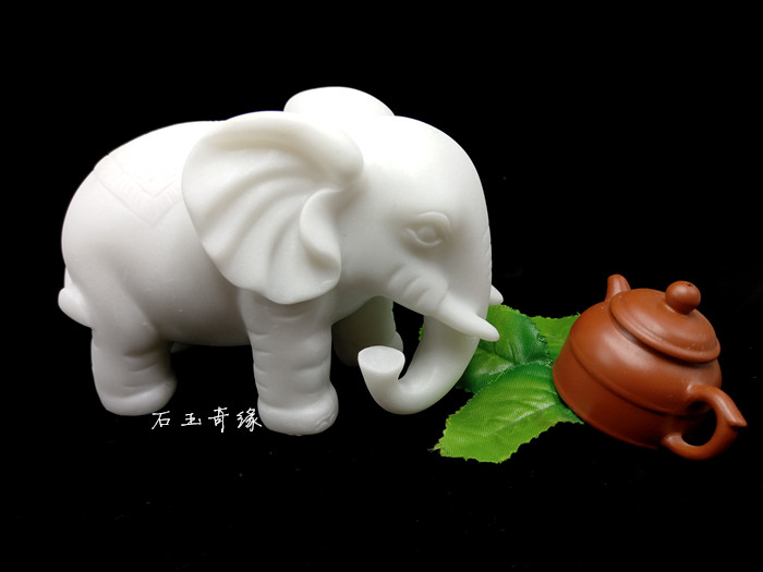 Asian marbled jade elephant thanks you