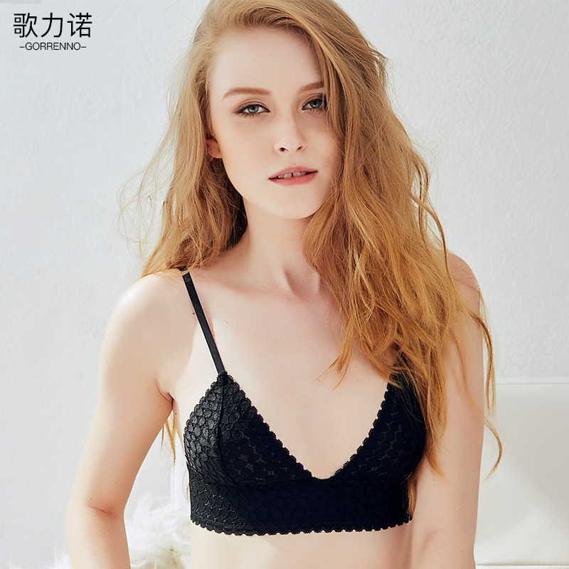Usd 6840 Chloe Bra Sexy Thin Section Lace Flat Chest -5091
