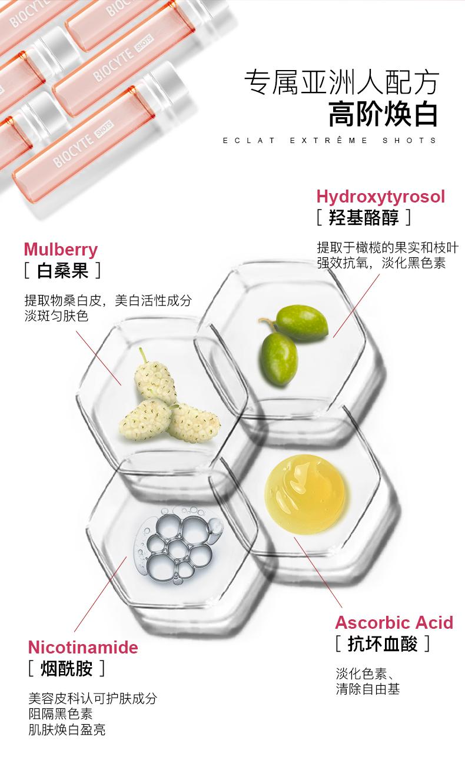 碧维斯Biocyte美白液态饮口服液 内服全身美白去黄淡斑抗糖美白饮 ¥709.00 产品中心 第10张