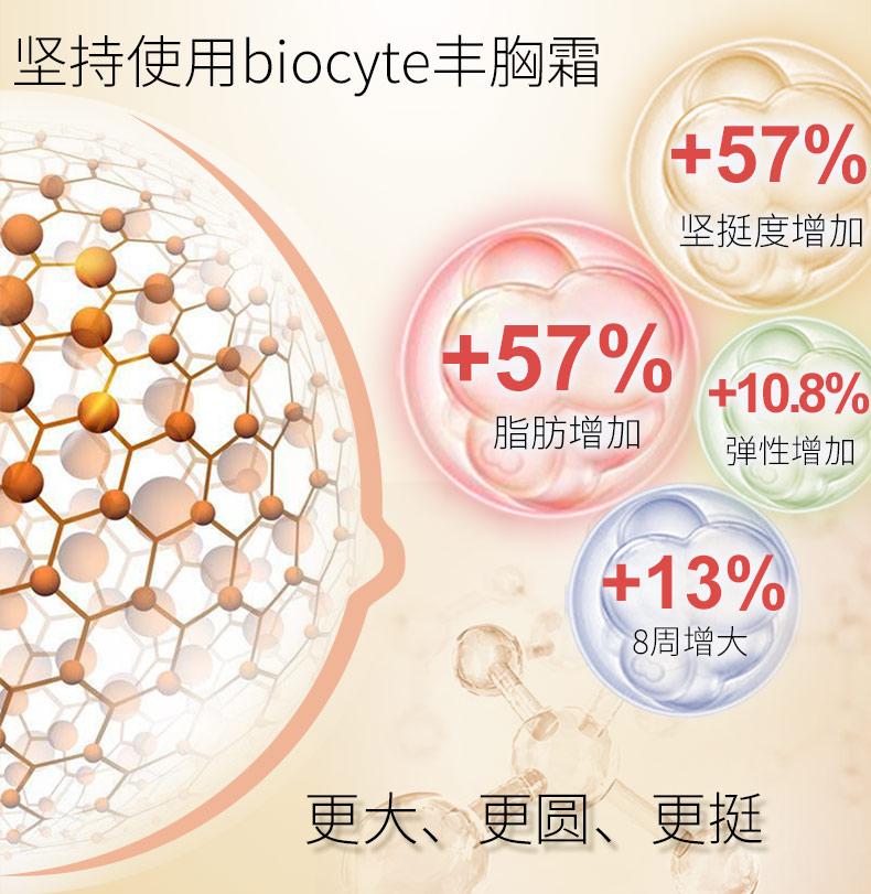 法国Biocyte丰胸精华霜懒人按摩乳房快速增大 纯天然进口正品 ¥269.00 产品中心 第4张