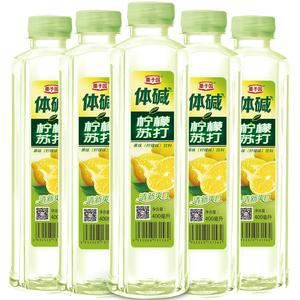 栗子园柠檬苏打水400ML*24