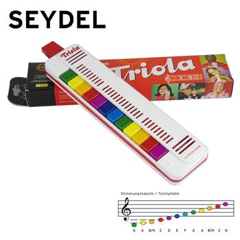 Детские синтезаторы,  Импорт из германии SEYDEL ребенок музыкальные инструменты рот орган Triola12 дети рождество день рождения подарок, цена 3831 руб