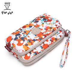 Fei Du Di Du Clutch Women's Clutch Bag Canvas Clutch Small Hand Carry Portable Coin Purse Nylon Oxford Fabric Casual
