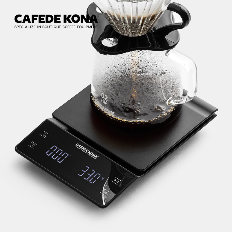 Cafede Kona Handmade Coffee Electronic Weighing Bar Food Weighing