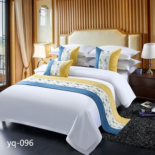 Hotel Bedding High-end Light Luxury Bed End Towel Bed Flag Bed End Cushion Bed Cover Table Flag Same Cushion Cushion Pillow