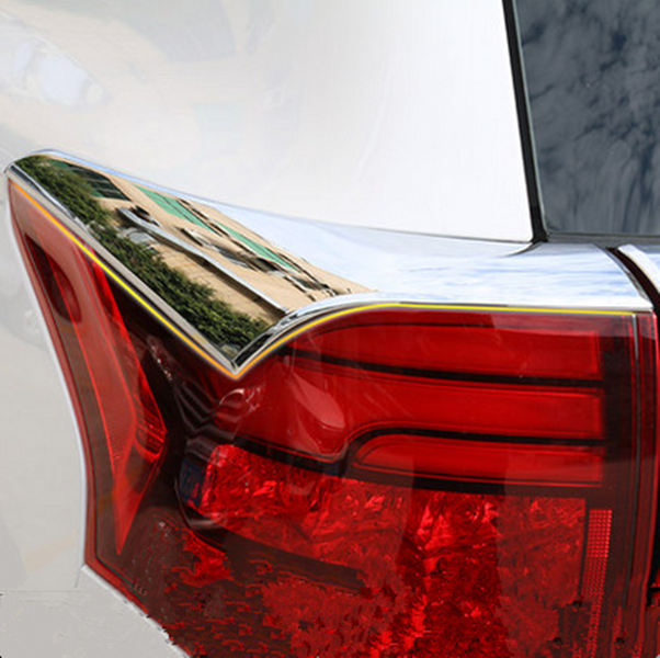 Chrome Rear Tail Light Lamp Cover Trim Fit For Mitsubishi ...