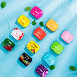 【拍6件】IMINT无糖薄荷口香糖6盒