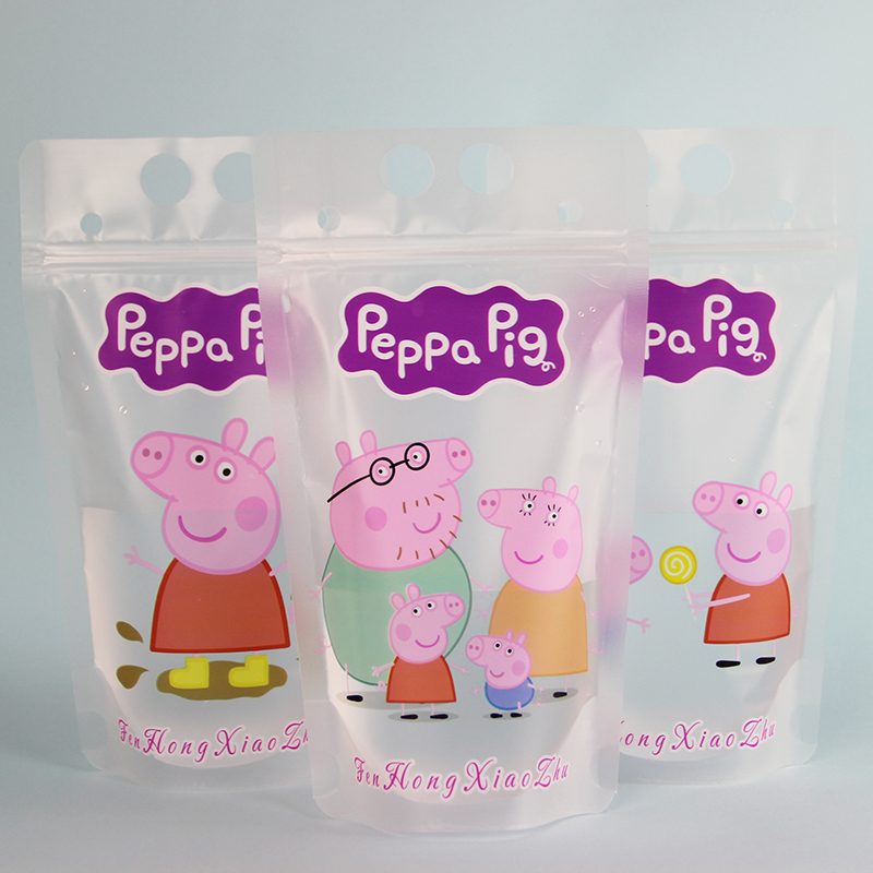 Cute pig three figure series matte