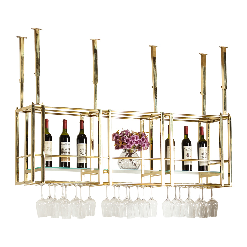 Wine Rack Hanging Red Cup