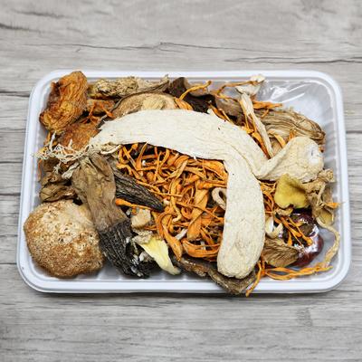 云南特产菌汤包100g菌菇干货竹荪茶树菇姬松茸煲汤食材食用菌菇汤