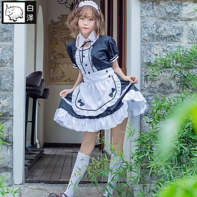 taobao agent Shirasawa light tone girl costume Hirasawa only maid costume two-dimensional cosplay women's cafe uniform maid