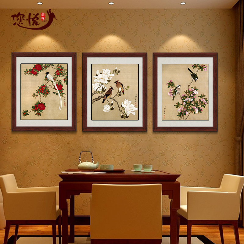 Chinese restaurant wall decoration decor ideas