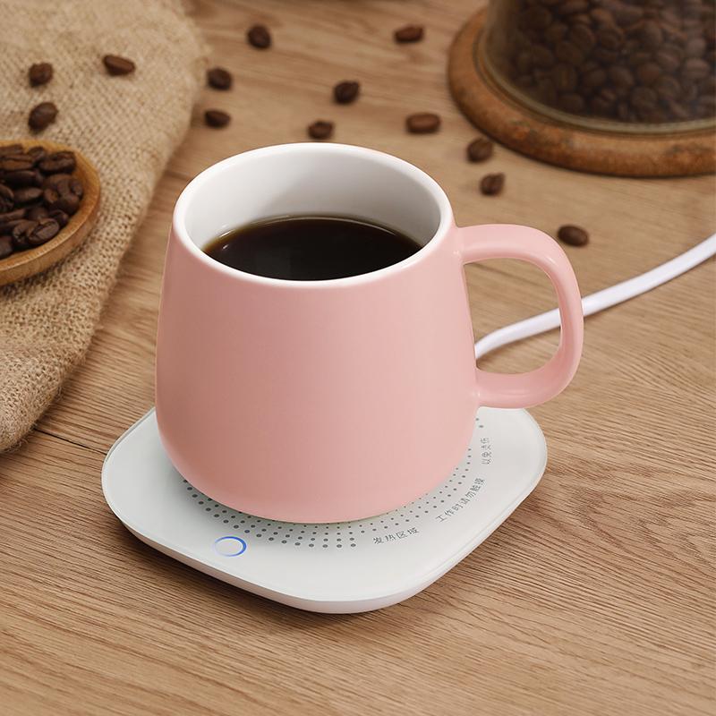电热杯小型便携式加热水杯保温迷你宿舍热牛奶办公室神器养生杯子
