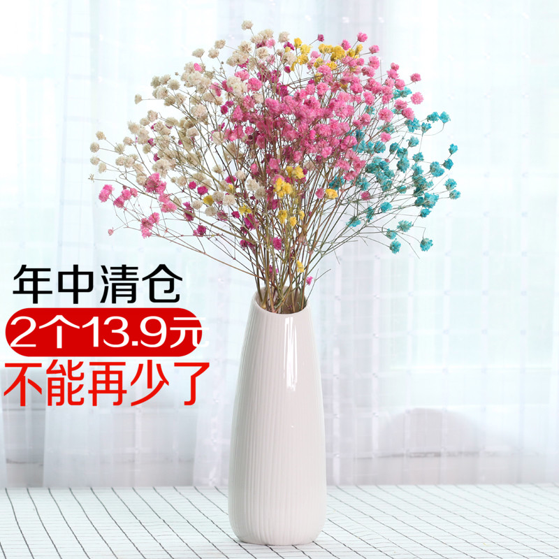 Usd 1162 Gypsophila Dried Flower Vase Decoration European Home