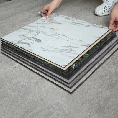Floor leather PVC floor stickers home cement self-adhesive floor stickers waterproof wear bedroom plastic floor glue